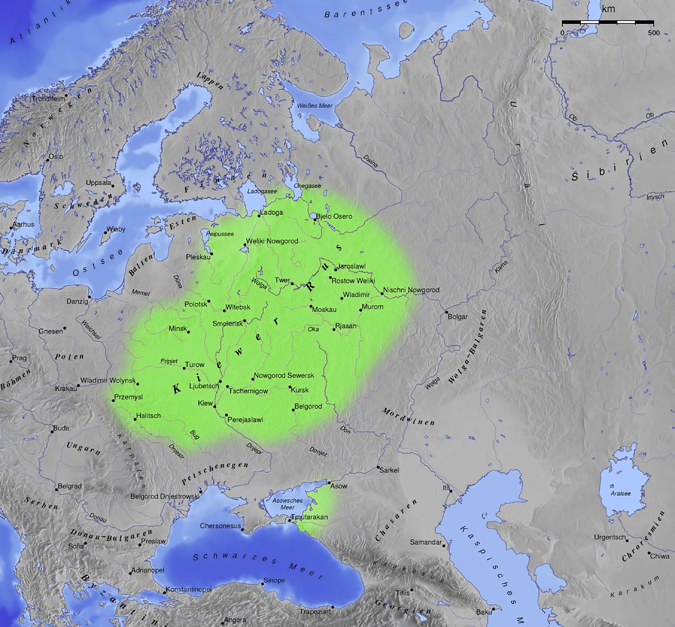 Slawische Stämme