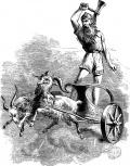 Gott der Donner und der Blitze Thor