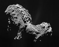 Comet 67P on 19 September 2014 NavCam mosaic thumb.jpg
